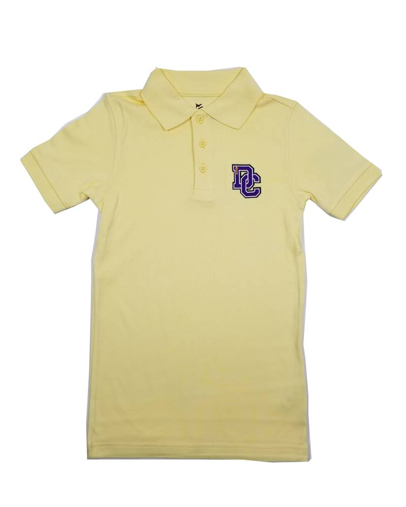 Classroom Uniforms Dayton Christian SS Polo - Yellow