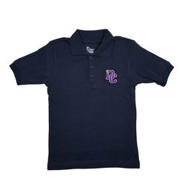 Classroom Uniforms Dayton Christian SS Polo - Navy