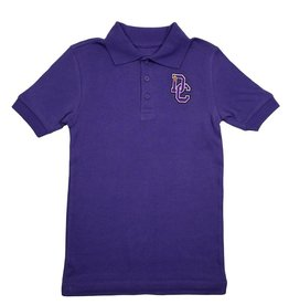 Classroom Uniforms Dayton Christian SS Polo - Purple