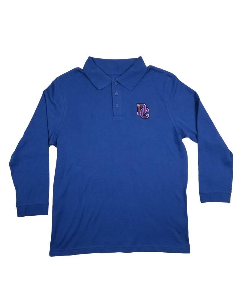 Classroom Uniforms DAYTON CHRISTIAN LS POLO SHIRT - ROYAL