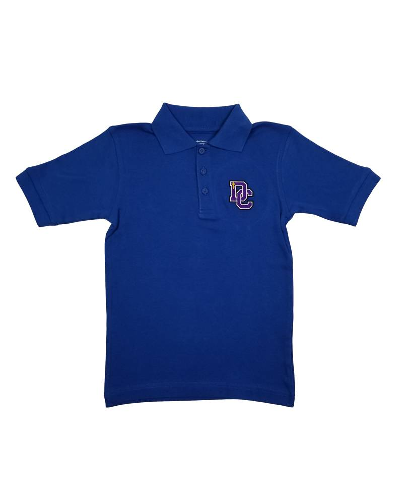 Classroom Uniforms Dayton Christian SS Polo - Royal