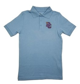 Classroom Uniforms Dayton Christian SS Polo - Lt. Blue