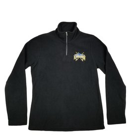 Charles River Apparel LEHMAN CATHOLIC LADIES BLACK FLEECE