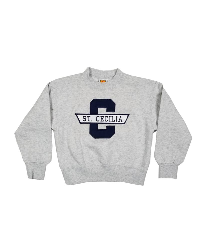 School Apparel, Inc. ST. CECILIA SOLID SWEATSHIRT