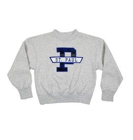 School Apparel, Inc. ST. PAUL PLAID SWEATSHIRT
