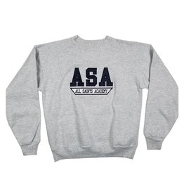 School Apparel, Inc. ALL SAINTS SOLID SWEATSHIRT