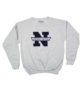 School Apparel, Inc. NORTHSIDE CHRISTIAN SOLID SWEATSHIRT