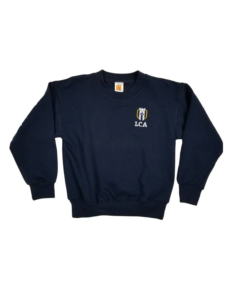 School Apparel, Inc. LEGACY CHRISTIAN SWEATSHIRT WITH CREST