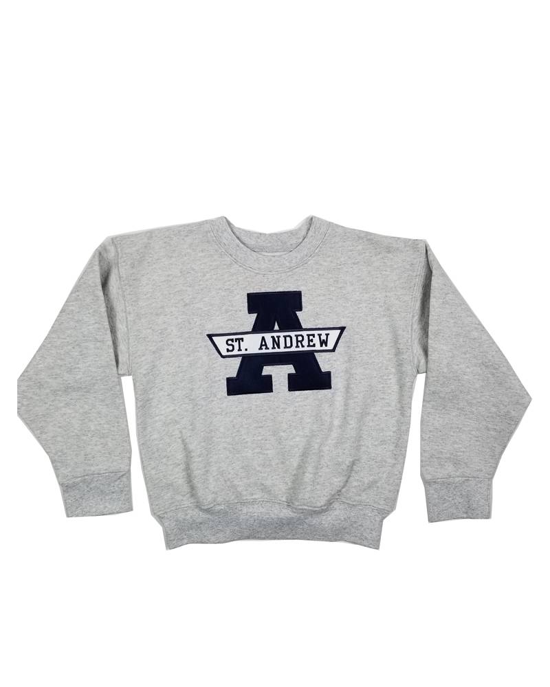 School Apparel, Inc. ST. ANDREW  SOLID SWEATSHIRT