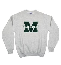 School Apparel, Inc. ST. MICHAEL SOLID SWEATSHIRT