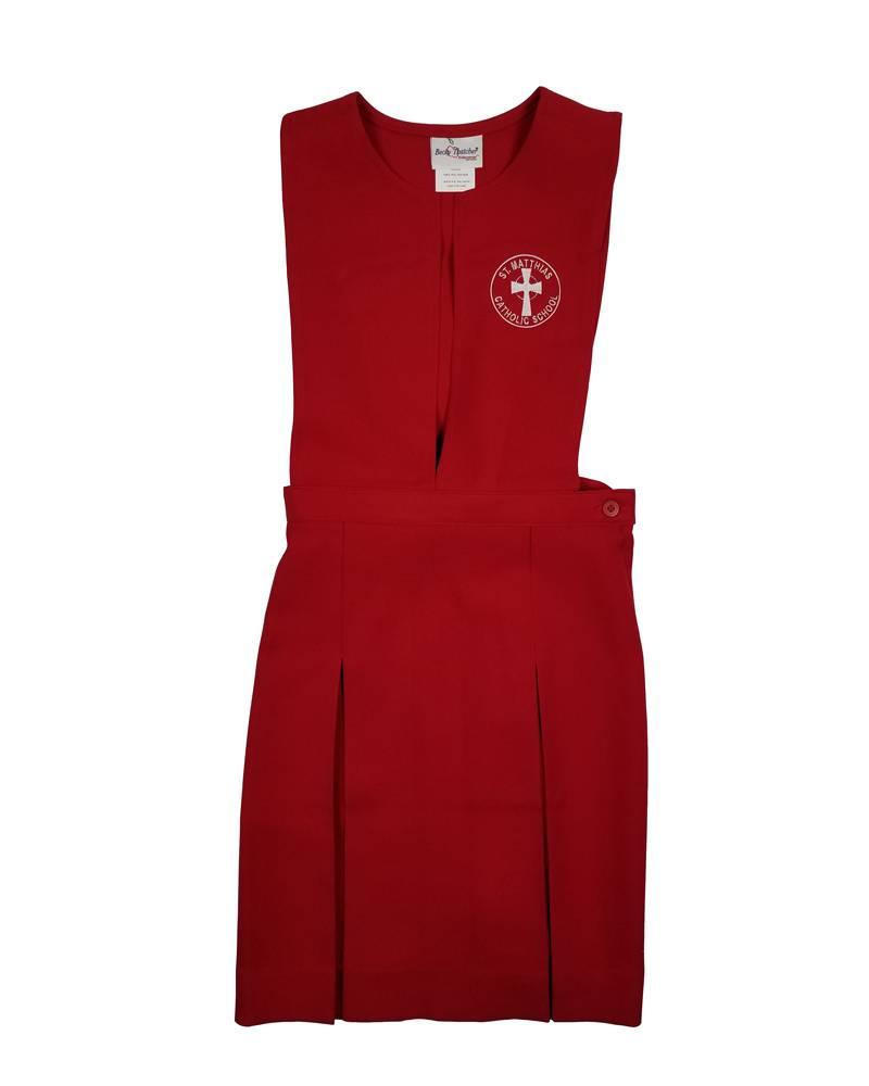 St. Matthias Middle School Jumper Red