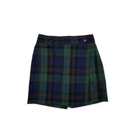 Wrap Front Skort Plaid 81