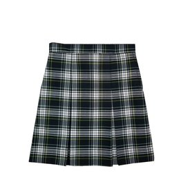 KICK PLEAT SKIRT PLAID 61
