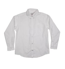 Elder Manufacturing Co. Inc. GIRLS/LADIES LS WHITE OXFORD BLOUSE