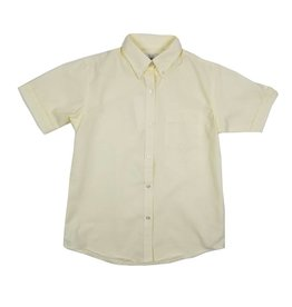 Elder Manufacturing Co. Inc. GIRLS/LADIES SS YELLOW OXFORD BLOUSE
