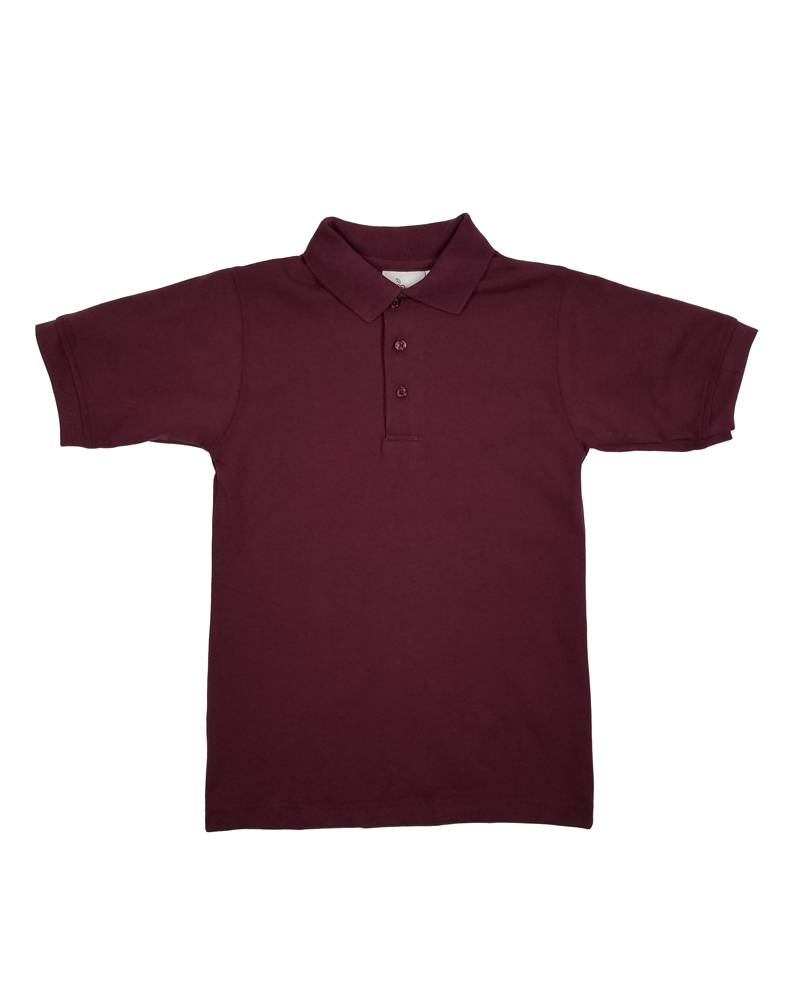 Elder Manufacturing Co. Inc. SHORT SLEEVE JERSEY KNIT SHIRT MAROON