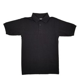 Elder Manufacturing Co. Inc. SHORT SLEEVE JERSEY KNIT SHIRT BLACK