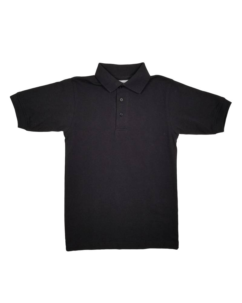 Elder Manufacturing Co. Inc. SHORT SLEEVE JERSEY KNIT SHIRT BLACK