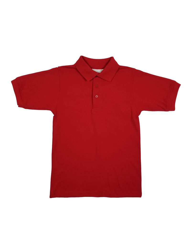 Elder Manufacturing Co. Inc. SHORT SLEEVE JERSEY KNIT SHIRT RED