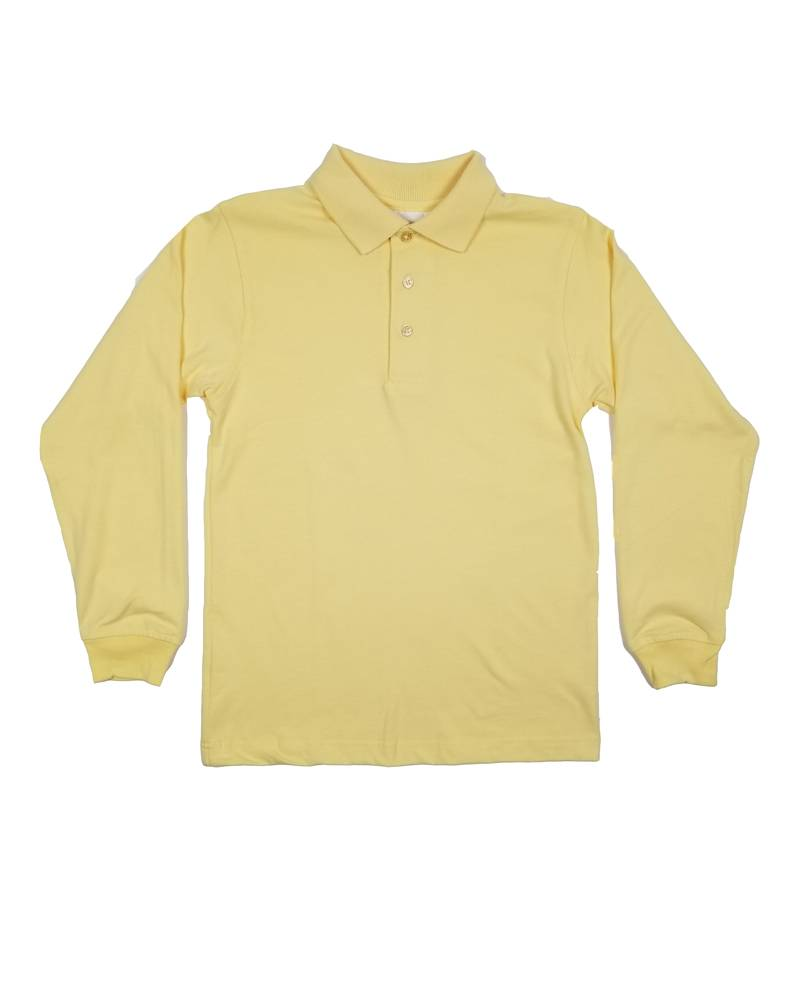 Elder Manufacturing Co. Inc. LONG SLEEVE  JERSEY KNIT SHIRT YELLOW