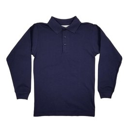Elder Manufacturing Co. Inc. LONG SLEEVE  JERSEY KNIT SHIRT NAVY