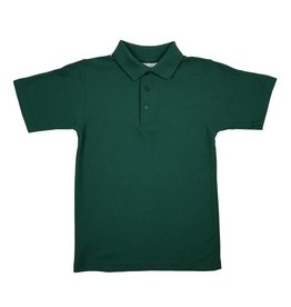 Elder Manufacturing Co. Inc. SHORT SLEEVE PIQUE KNIT SHIRT GREEN