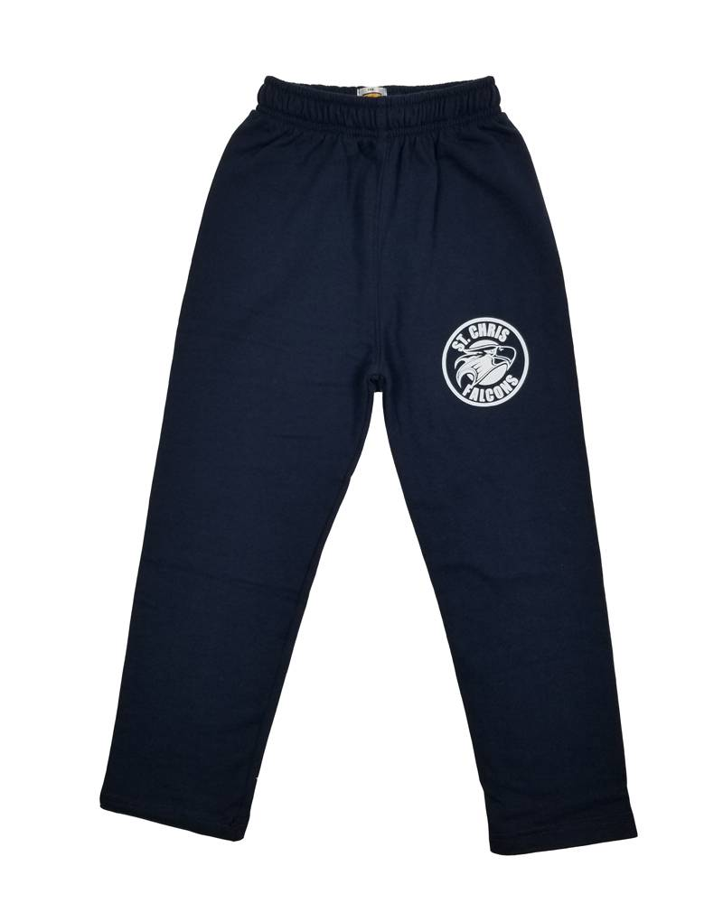 School Apparel, Inc. ST CHRISTOPHER OPEN BOTTOM SWEATPANT