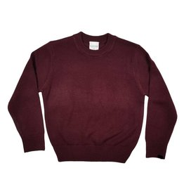 School Apparel, Inc. CREW NECK PULLOVER SWEATER MAROON