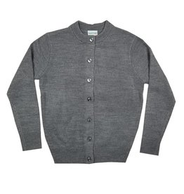 Elder Manufacturing Co. Inc. GIRLS CARDIGAN GREY