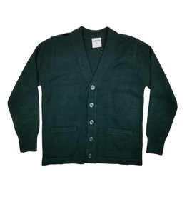 Elder Manufacturing Co. Inc. V-NECK CARDIGAN W/ POCKET GREEN