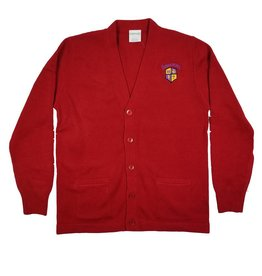 Elder Manufacturing Co. Inc. EMMANUEL CHRISTIAN V-NECK CARDIGAN SWEATER