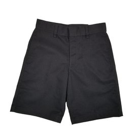 Elder Manufacturing Co. Inc. BOYS/MENS FLAT FRONT SHORTS BLACK