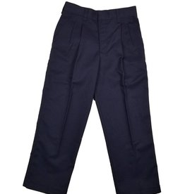 Elder Manufacturing Co. Inc. BOY/MENS PLEATED PANTS NAVY