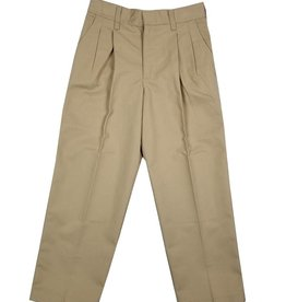 Elder Manufacturing Co. Inc. BOY/MENS PLEATED PANTS KHAKI