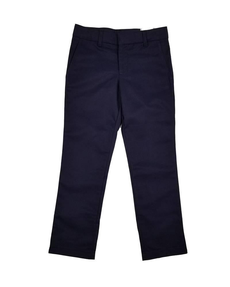 Elder Manufacturing Co. Inc. GIRLS/LADIES FLAT FRONT PANTS NAVY 2
