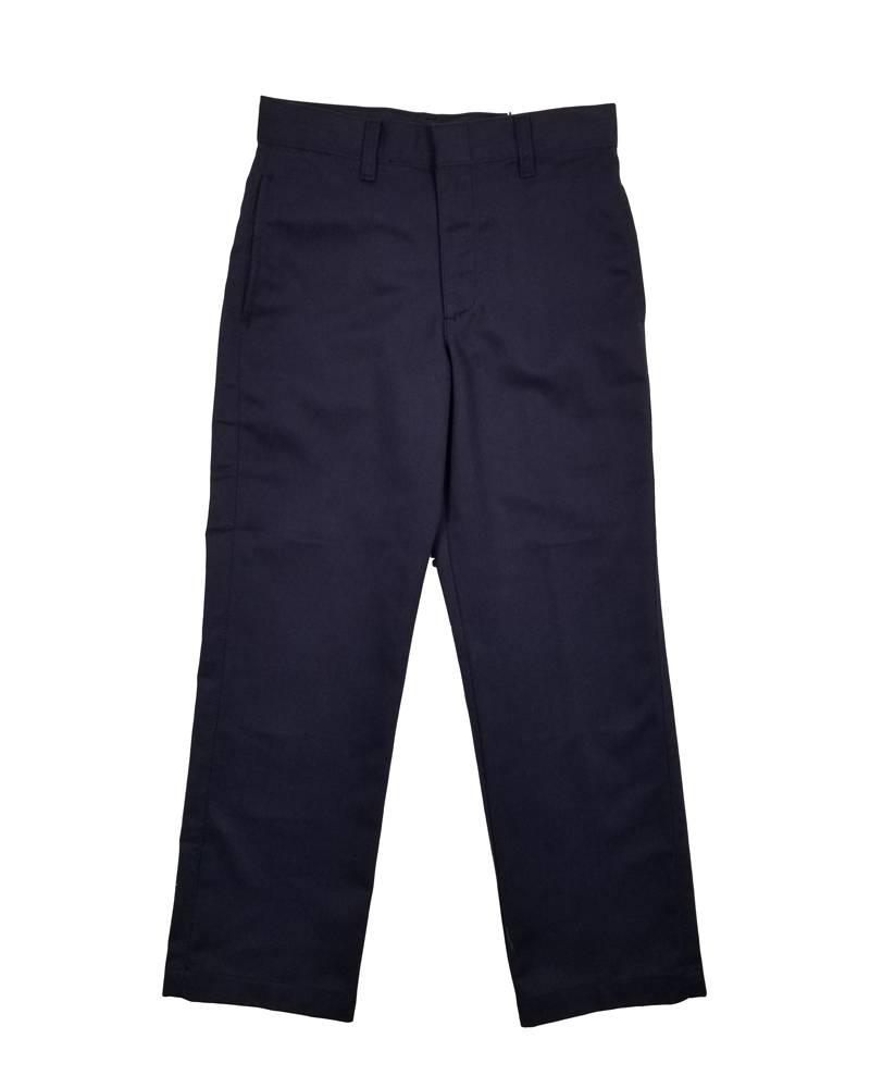 Elder Manufacturing Co. Inc. BOY/MENS FLAT FRONT PANTS NAVY 2