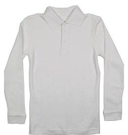 Classroom Uniforms CLASSROOM LONG SLEEVE POLO WHITE C