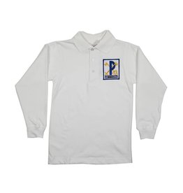 Elder Manufacturing Co. Inc. ST PETER LONG SLEEVE  JERSEY KNIT SHIRT WHITE