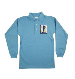 Elder Manufacturing Co. Inc. ST PETER LONG SLEEVE  JERSEY KNIT SHIRT BLUE