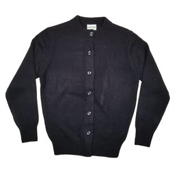 Elder Manufacturing Co. Inc. GIRLS CARDIGAN NAVY D