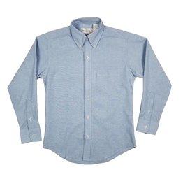 Elder Manufacturing Co. Inc. BOYS/MENS LS LT BLUE OXFORD SHIRT 2