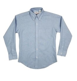 Elder Manufacturing Co. Inc. BOYS/MENS LS LT BLUE OXFORD SHIRT 3