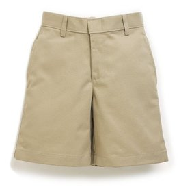 Elder Manufacturing Co. Inc. BOYS/MENS FLAT FRONT SHORTS KHAKI 3