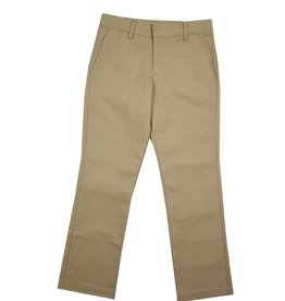 Elder Manufacturing Co. Inc. GIRLS/LADIES FLAT FRONT PANTS KHAKI 4
