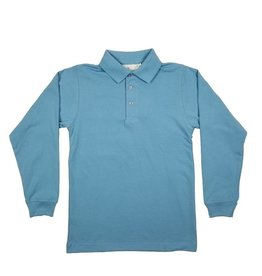 Elder Manufacturing Co. Inc. LONG SLEEVE  JERSEY KNIT SHIRT BLUE C