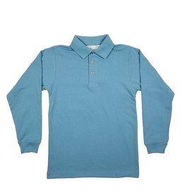 Elder Manufacturing Co. Inc. LONG SLEEVE  JERSEY KNIT SHIRT BLUE B
