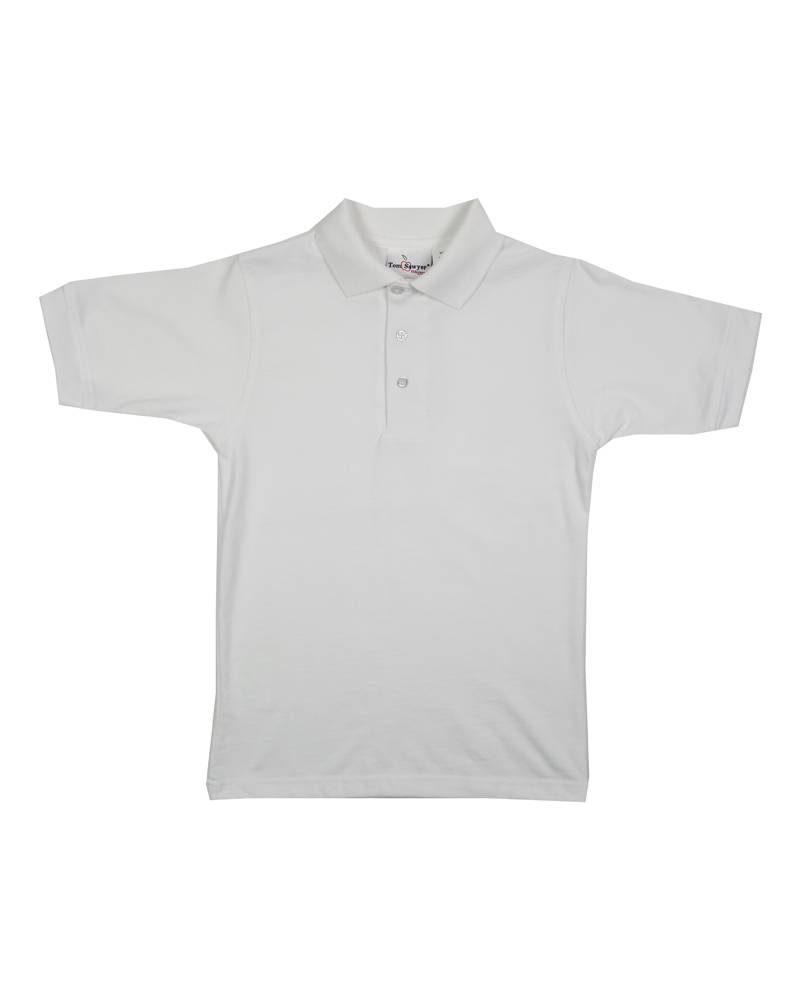 Elder Manufacturing Co. Inc. SHORT SLEEVE JERSEY KNIT SHIRT WHITE E