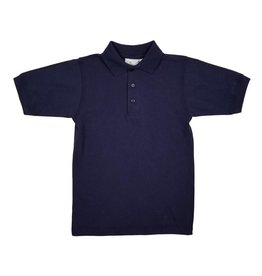 Elder Manufacturing Co. Inc. SHORT SLEEVE JERSEY KNIT SHIRT NAVY B