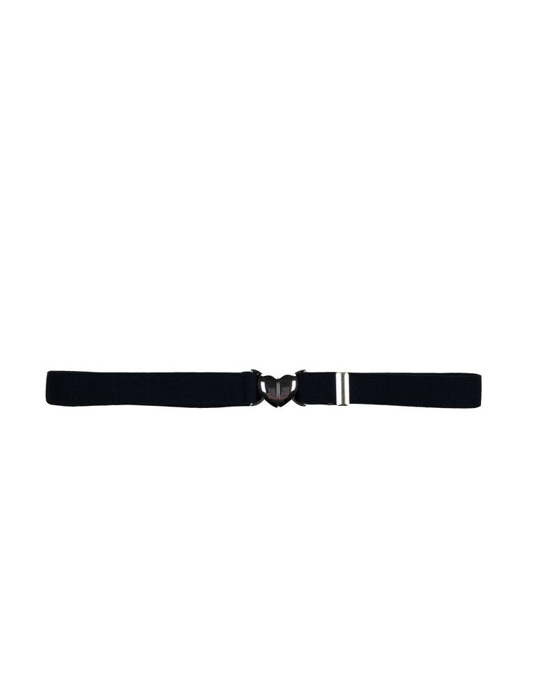 A Finishing Touch HEART CLIP BELT NAVY D