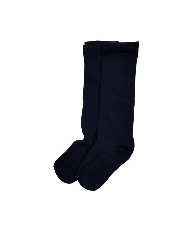 OPAQUE KNEE-HI SOCKS NAVY B